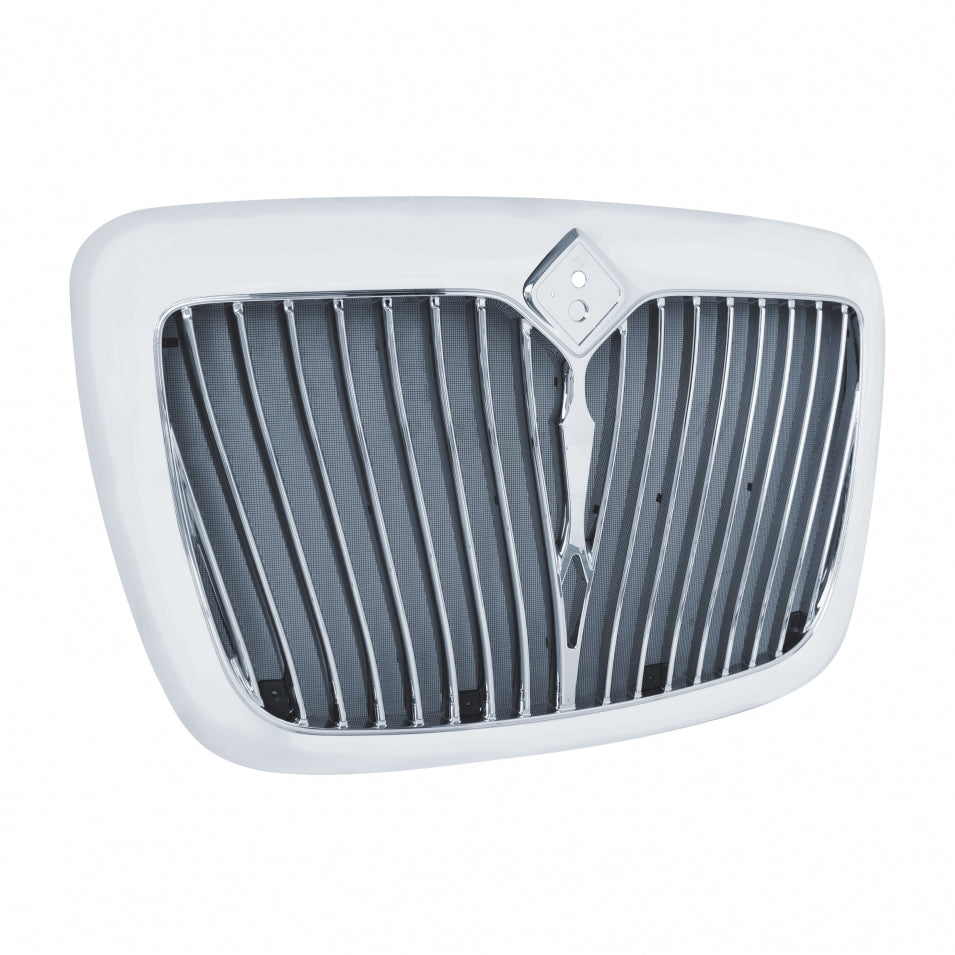 International 2006 - 2017 ProStar Chrome Grille w/ Bug Screen