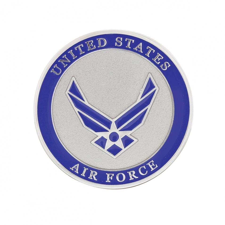 "1 3/4"" U.S. Military Adhesive Metal Medallion"