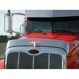 Stainless Bug Deflector For 2013+ Peterbilt 579