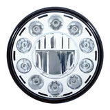 "11 High Power LED 7"" Crystal Headlight"