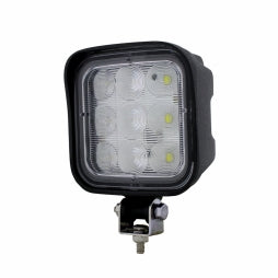 9 LED Square Wide Angle Driving/Work Flood Light