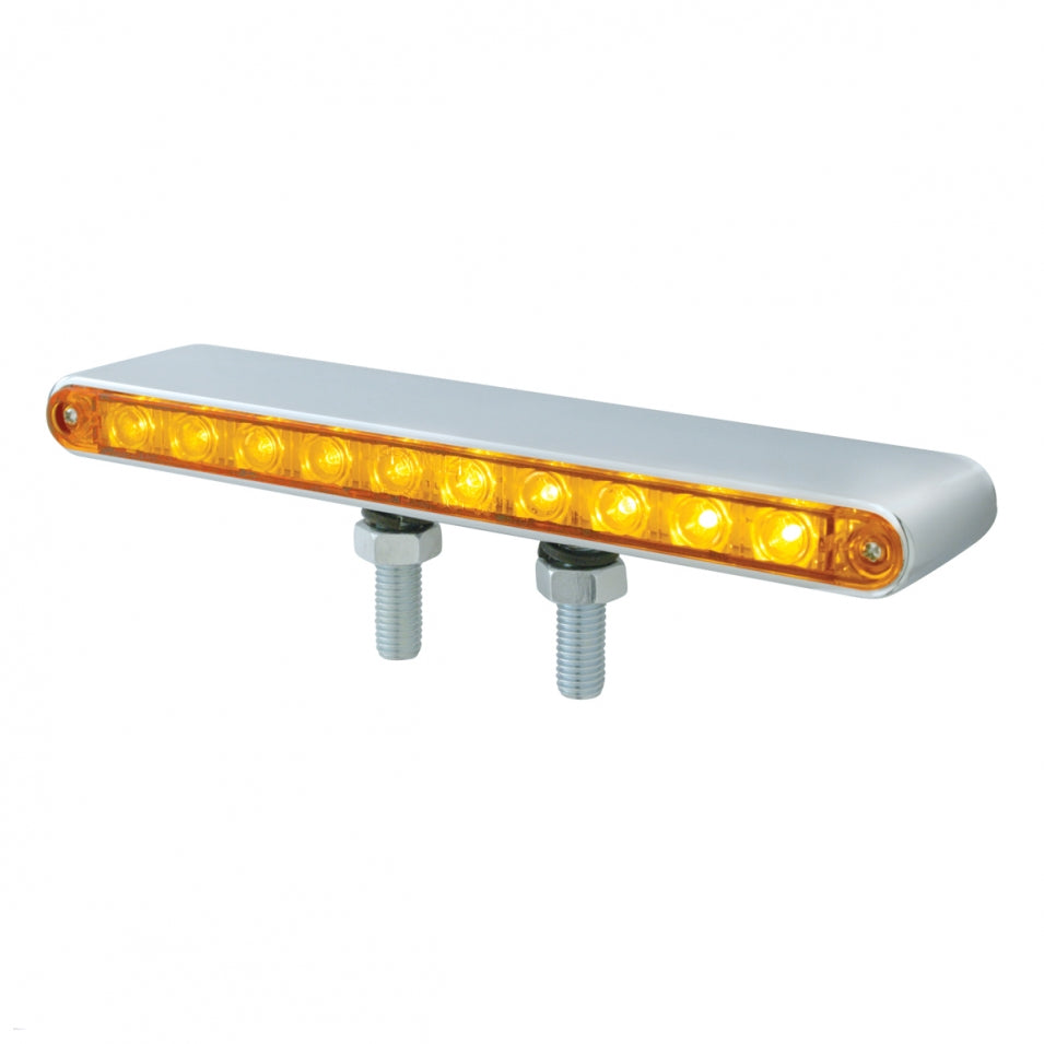 "10 LED 9"" Double Face Light Bar"