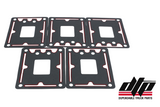 Gasket with Silicone Beading