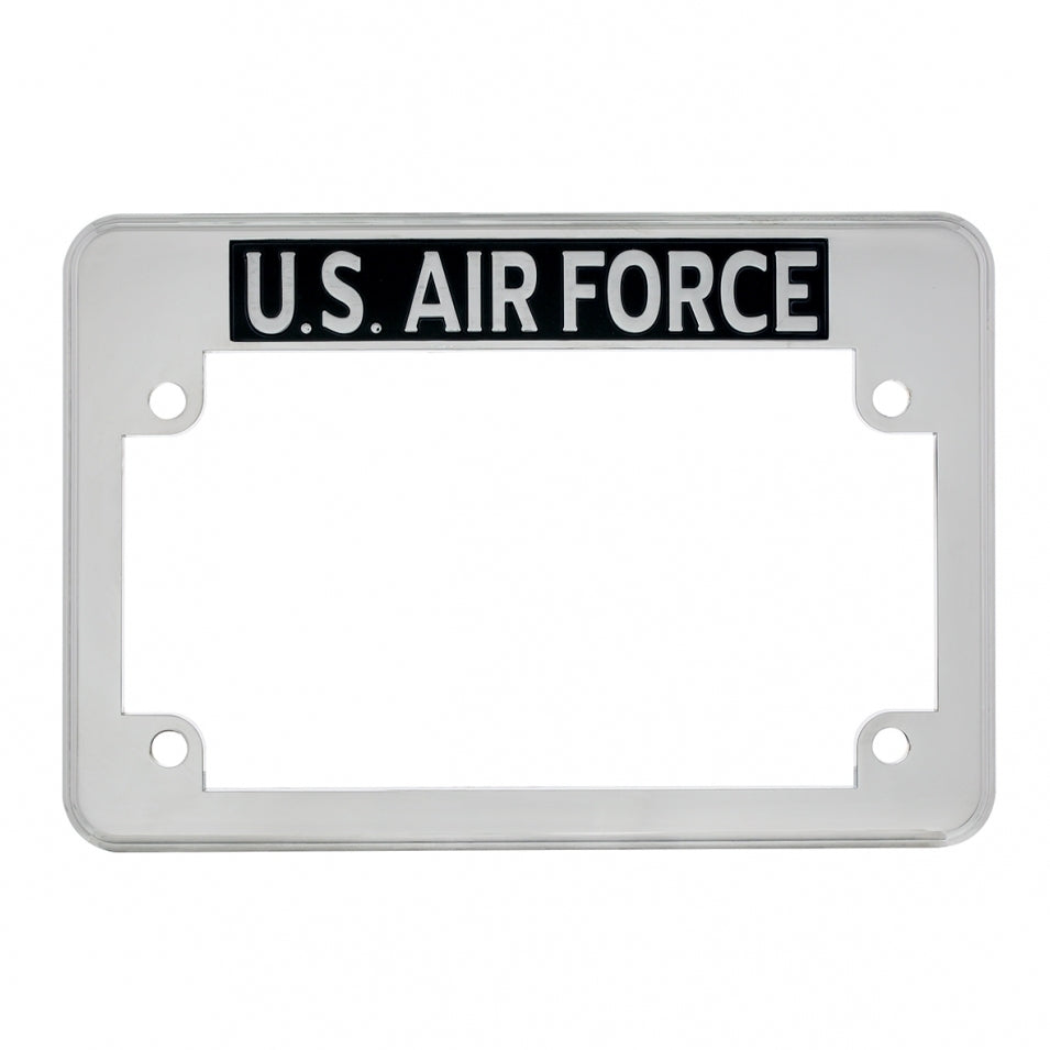 U.S. Military Motorcycle License Plate Frame