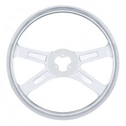 "18"" Stainless Steering Wheel"