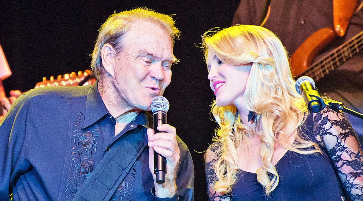 GLEN CAMPBELL'S DAUGHTER OFFERS UPDATE ON HIS HEALTH