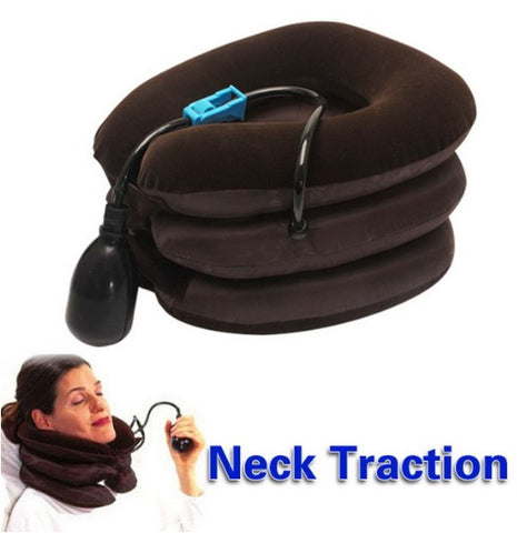 Cervical Neck Traction Soft Brace Device