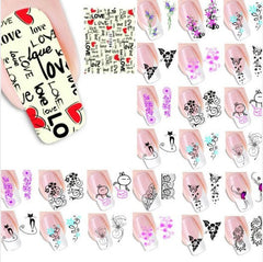 Nail Art Tips Stickers Decals