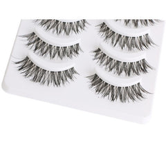 Natural Long Cross False Eyelashes