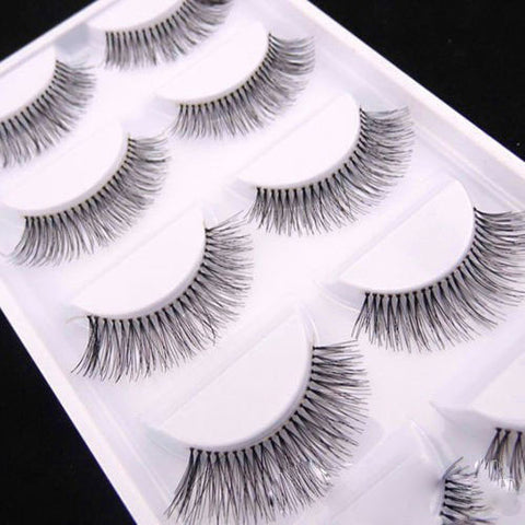 5 Pairs False Eyelashes Extensions