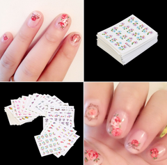Nail Art Stickers Polish Watermark