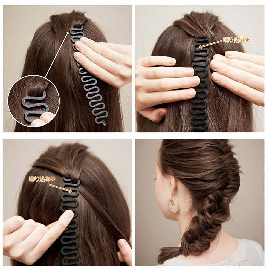Hair Twist Styling Bun Maker