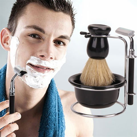 Shaving Brush Black Bowl