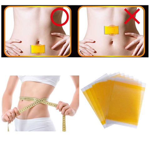 100pcs/10bags Slimming Navel Sticker Slim Patch Lose Weight Loss Burning Fat