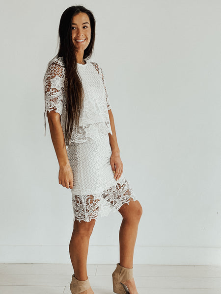 Arlington Lace Skirt Set