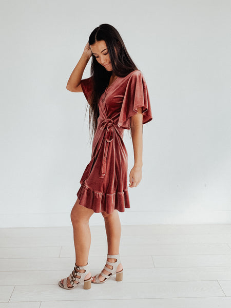 Barefoot on the Grass Wrap Dress