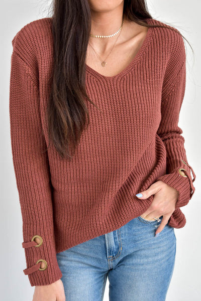 Brick Laces Sweater