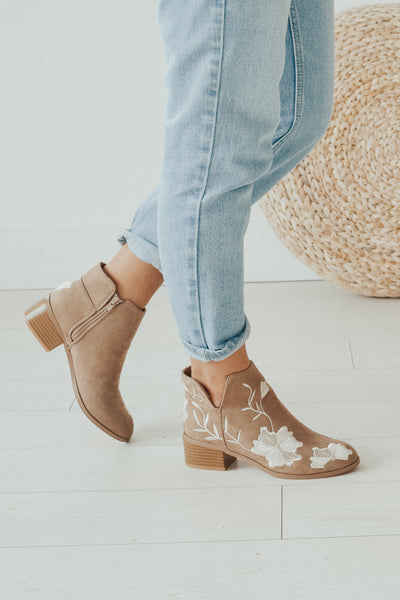 Catalina Suede Booties
