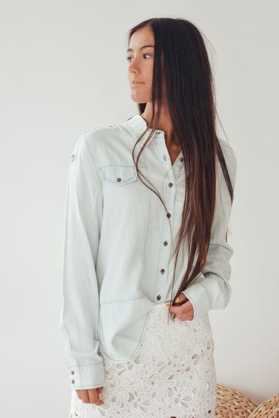 Dallon Denim Button Down