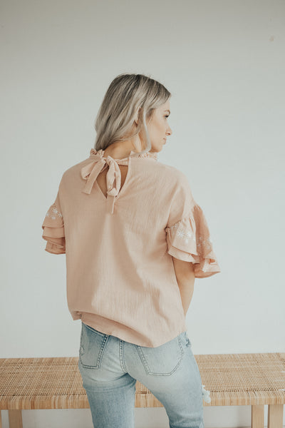 Double Down Detail Top
