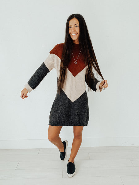 From Any Angle Sweater Dress