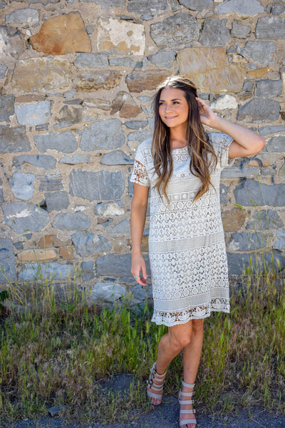 Concrete Lace Dress