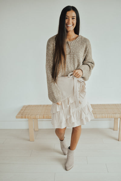 Like Really Pretty Ruffle Skirt