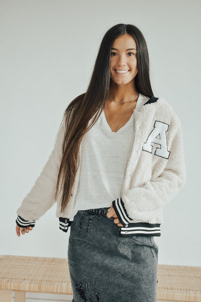Pretty Little Sherpa Letterman
