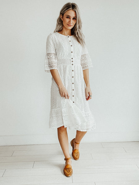 Weslyn Lace Dress