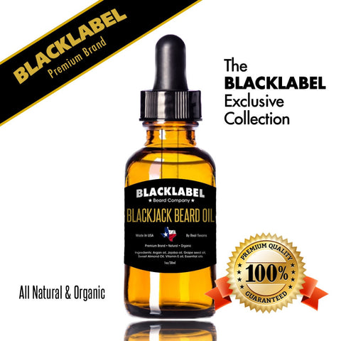 Blackjack Beard Oil