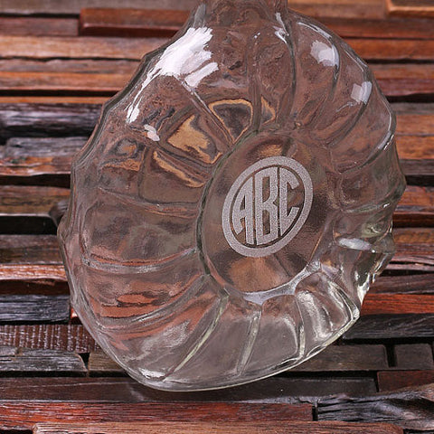 Personalized Engraved Decanter – Remy Round