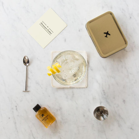 The Champagne Cocktail - Carry On Cocktail Kit