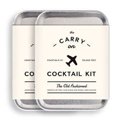 The Old Fashioned - Carry On Cocktail Kit