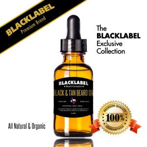 Black & Tan Beard Oil