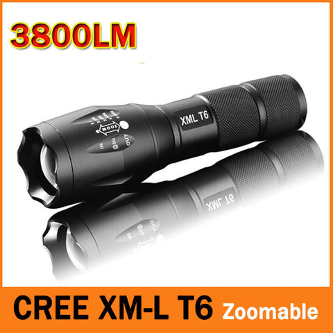Super Bright LED Flashlight 3800 Lumnes Waterproof