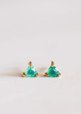 JaxKelly Green Onyx Mini Energy Gems Earrings