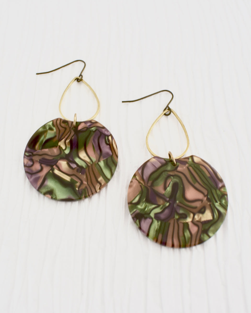 BelJoy Etch Earrings in Multi
