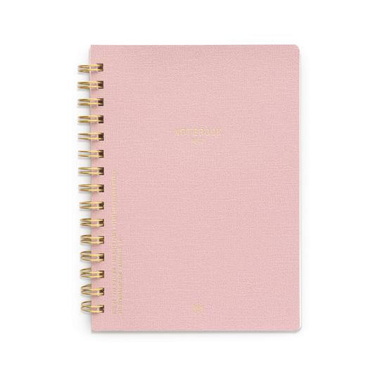 Pink Chiffon Wire Notebook
