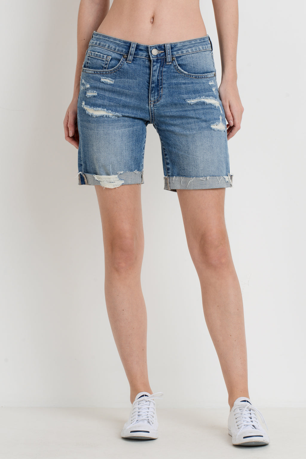 Destroyed Boyfriend Shorts