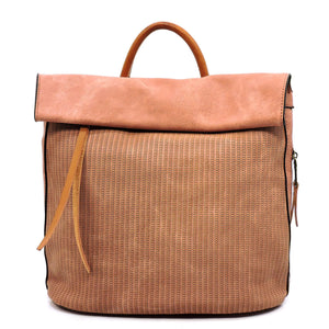Blush Backpack Handbag