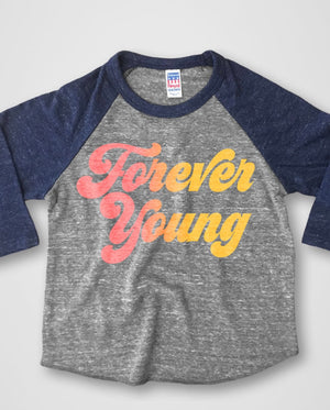 Forever Young Baseball Tee