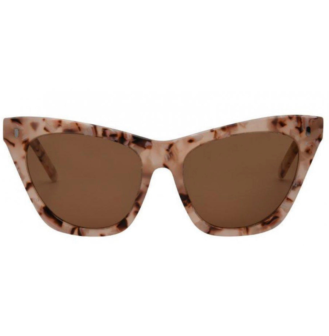 I-Sea Peach/Brown Lexi Sunglasses