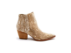 Coconuts by Matisse Astoria Snake Skin Bootie