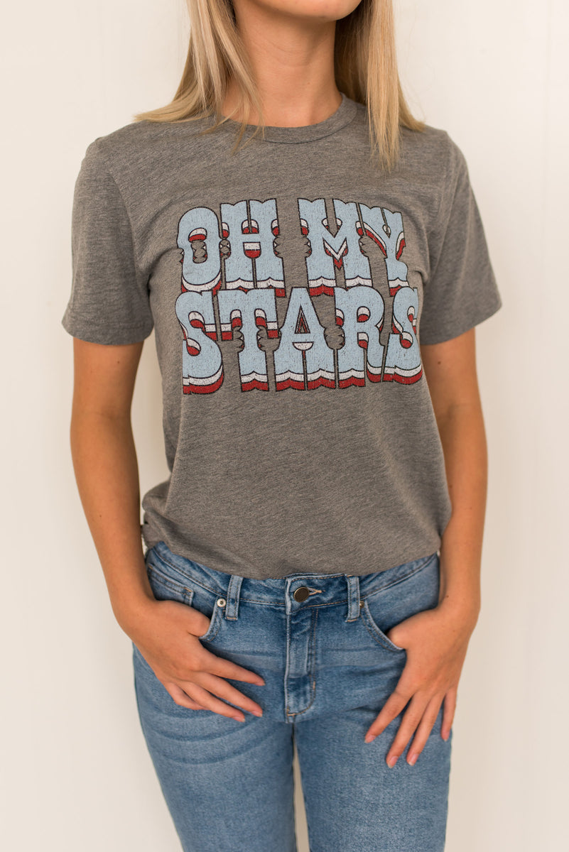 Friday + Saturday Oh My Stars Tee