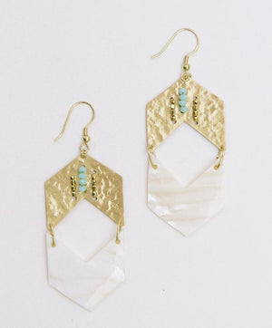 Genoa Arrow Earrings
