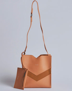 Pixie Mood Emily Crossbody in Caramel