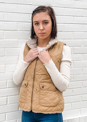 Thread & Supply Park City Reversible Vest