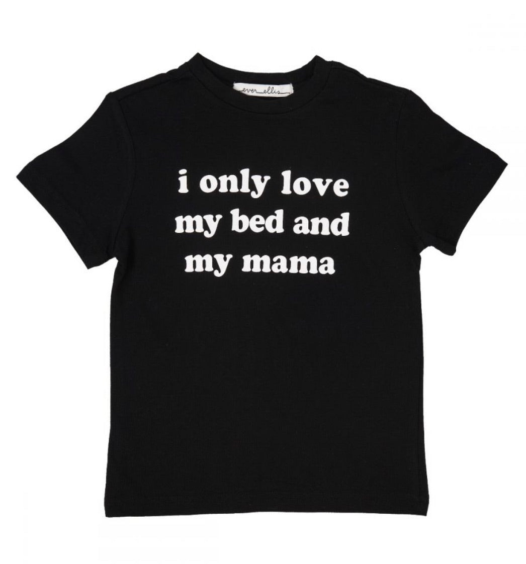 Bed and Mama Kid's Tee