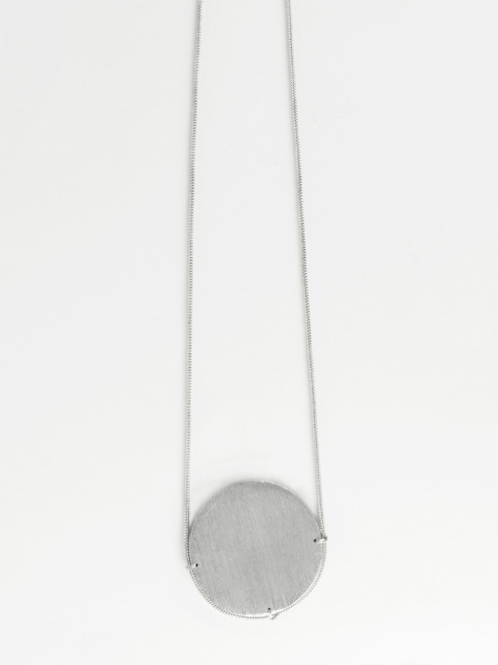 Silver On the Horizon Necklace