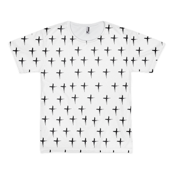 The Cross (Short sleeve men's t-shirt (unisex))